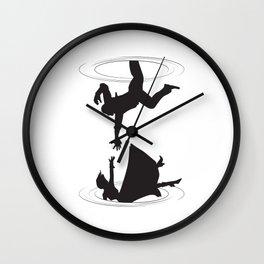 Booker & Elizabeth Wall Clock