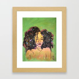 I am Black Girl Magic 2 Framed Art Print