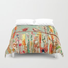 in your eyes Duvet Cover