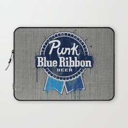 Punk Blue Ribbon Beer Laptop Sleeve
