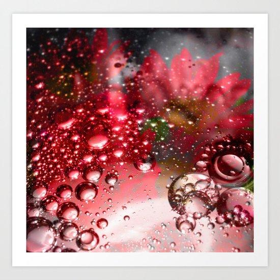 inflorescence beads Art Print