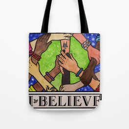 I.Believe|Peace Tote Bag