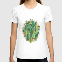 cacti T-shirts featuring Cacti by Gaby D'Alessandro