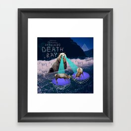 Death Ray Framed Art Print