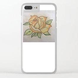 Een roos voor vallentyn Clear iPhone Case