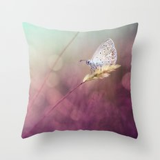 Purple heat... Throw Pillow