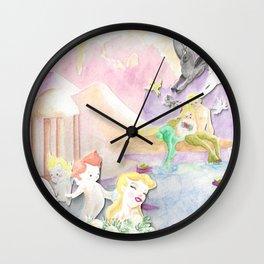 Spring Centaurs Wall Clock