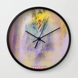 Clutch San Francisco Poster (Full Color) Wall Clock