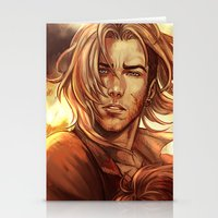 battlefield Stationery Cards featuring Battlefield by SirWendigo