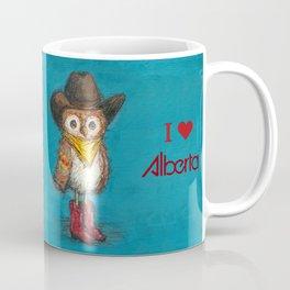Cowboy Owl Coffee Mug