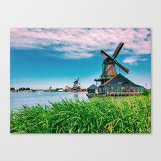amazing windmills  Canvas Print