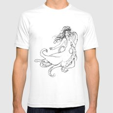 Seawitch SMALL White Mens Fitted Tee