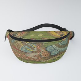 Vintage Indian Label Fanny Pack