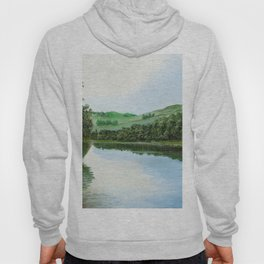 non-mirrored mountains Hoody