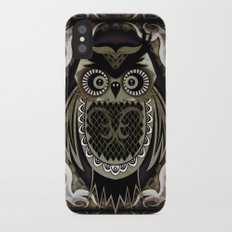 Owl iPhone X Slim Case
