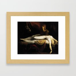 Henry Fuseli The Nightmare Framed Art Print