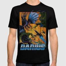 Darius Black Mens Fitted Tee MEDIUM