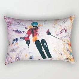 Powder Princess Rectangular Pillow
