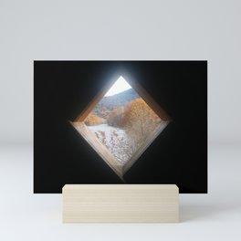 A View from a Covered Bridge Mini Art Print