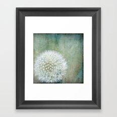 One Wish Framed Art Print