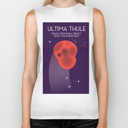 Ultima Thule Space art Biker Tank