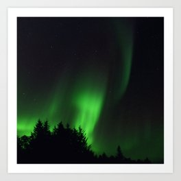 The Northern Lights 04 Art Print