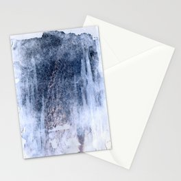 compressed waves Stationery Cards