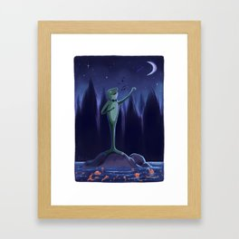 Evening Performance for the Gold Fish Framed Art Print
