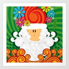 Christmas Pop Art Print