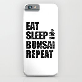 Bonsai Tree Saying Japan Culture Funny Quote Gift iPhone Case