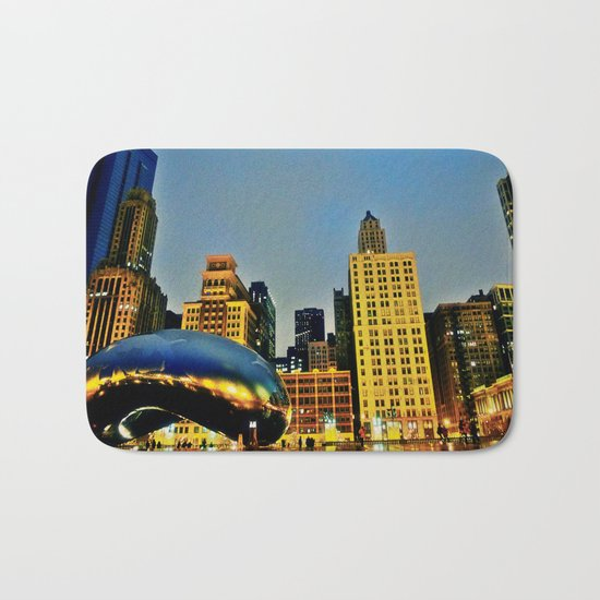 Chicago Bean Bath Mat