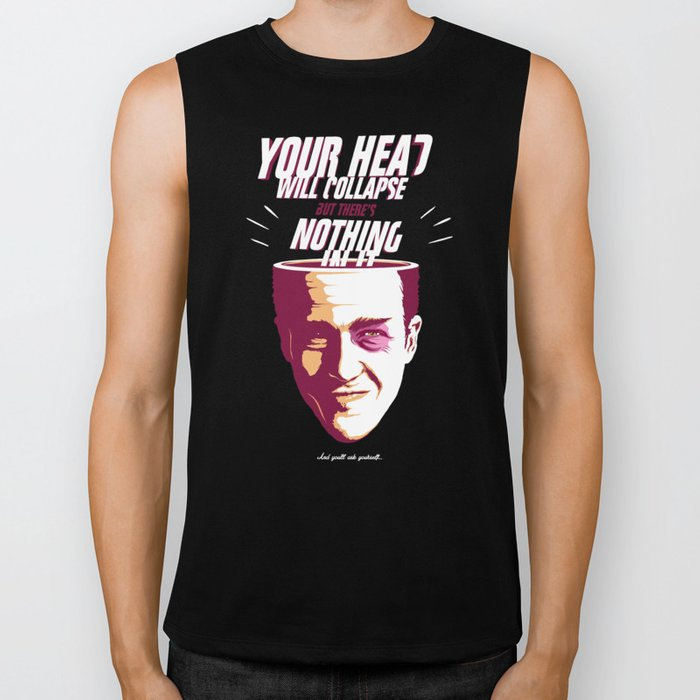 Your Head Will Collapse Biker Tank