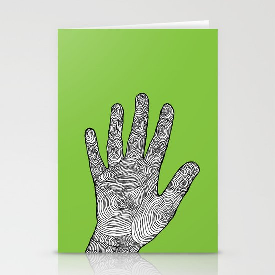 Handprint Stationery Cards