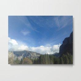yosimite sky  Metal Print