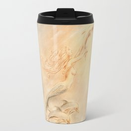 Dolphins Angel of the Seas Travel Mug