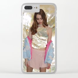 Mother of Pearl Edit Clear iPhone Case