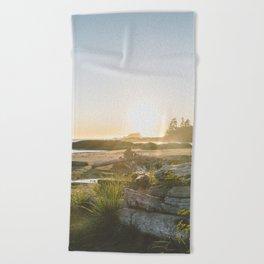 Tofino, British Columbia Beach Towel