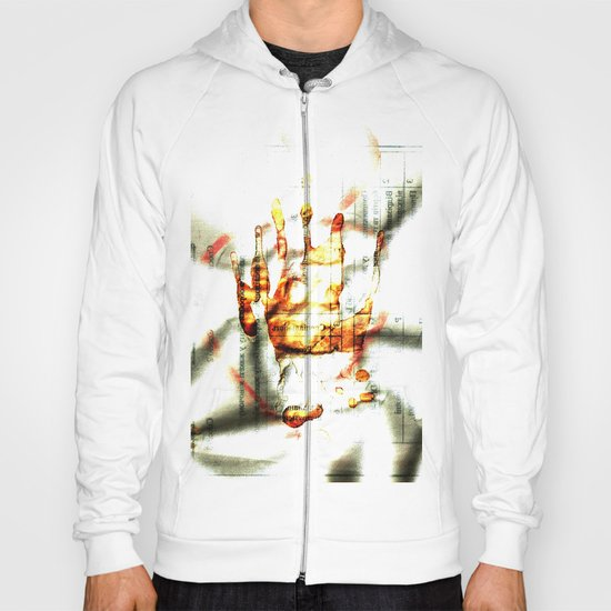 Trace of the hand Hoody