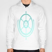 compass Hoodies featuring Compass by Carishinlove