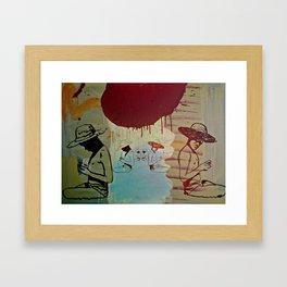 Dream of the lost days Framed Art Print