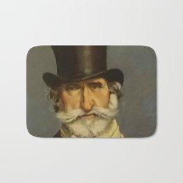 Giovanni Boldini- portrait of Verdi Bath Mat