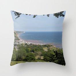 Jurassic Seascape  Throw Pillow