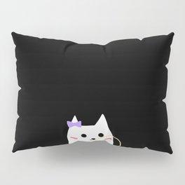 cat chewing gum-24 Pillow Sham