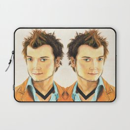 Elijah Wood Oil Portrait Laptop Sleeve