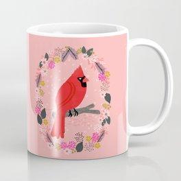 Northern Cardinal by Andrea Lauren  Coffee Mug