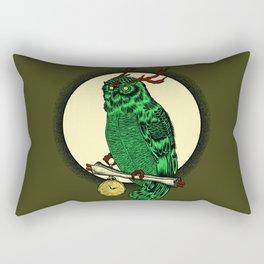 Eccentric Owl Rectangular Pillow