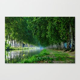 The Look Back Canvas Print