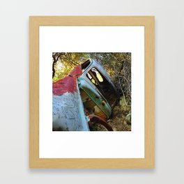 Natural Wreck Framed Art Print