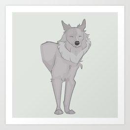Wolfdog Art Print