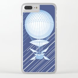 Airships Clear iPhone Case